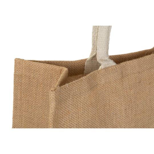 Medium jute promotional shopping bags pfn1138
