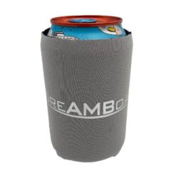 Promotional neoprene standard can coolers in grey pfn1411