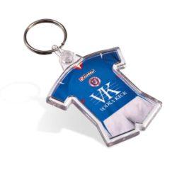 Promotional picto insert sports keyrings branded pfn1600