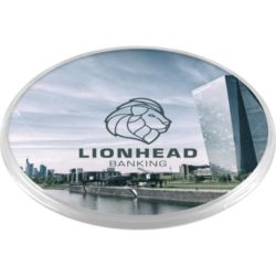 Promotional picto round insert coasters branded pfn1566