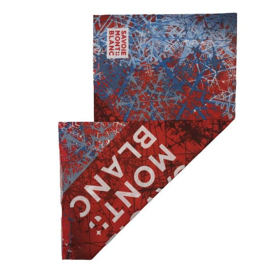 Printed recycled rpet snoods branded both sides pfn1961