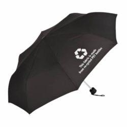Promo-light promotional recycled umbrella pfn1091