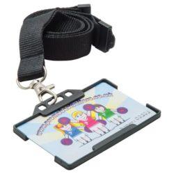 Rigid plastic card holder pfn1368