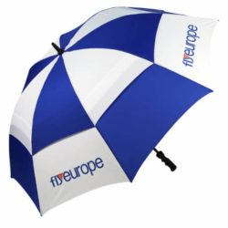 Sheffield Sports promotional vented golf umbrellas pfn1070