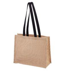 Taunton printed jute shopping bags pfn1187