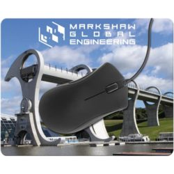 Thick fabric promotional mouse mats pfn1506