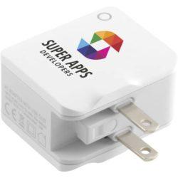World promotional USB travel adapters pfn1584