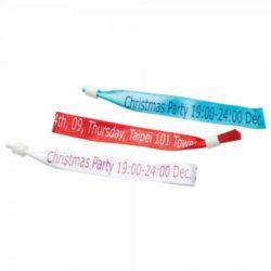 Woven event wristbands pfn1410